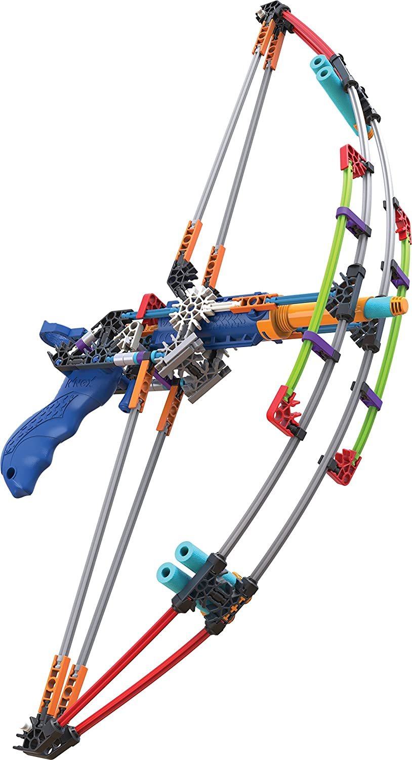 K'NEX K-FORCE Battle Bow Build and Blast Set – 165 Pieces – Ages 8+ Engineering Education Toy K'NEX 47525
