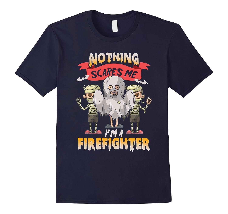 Funny Firefighter Halloween T-Shirt-T-Shirt