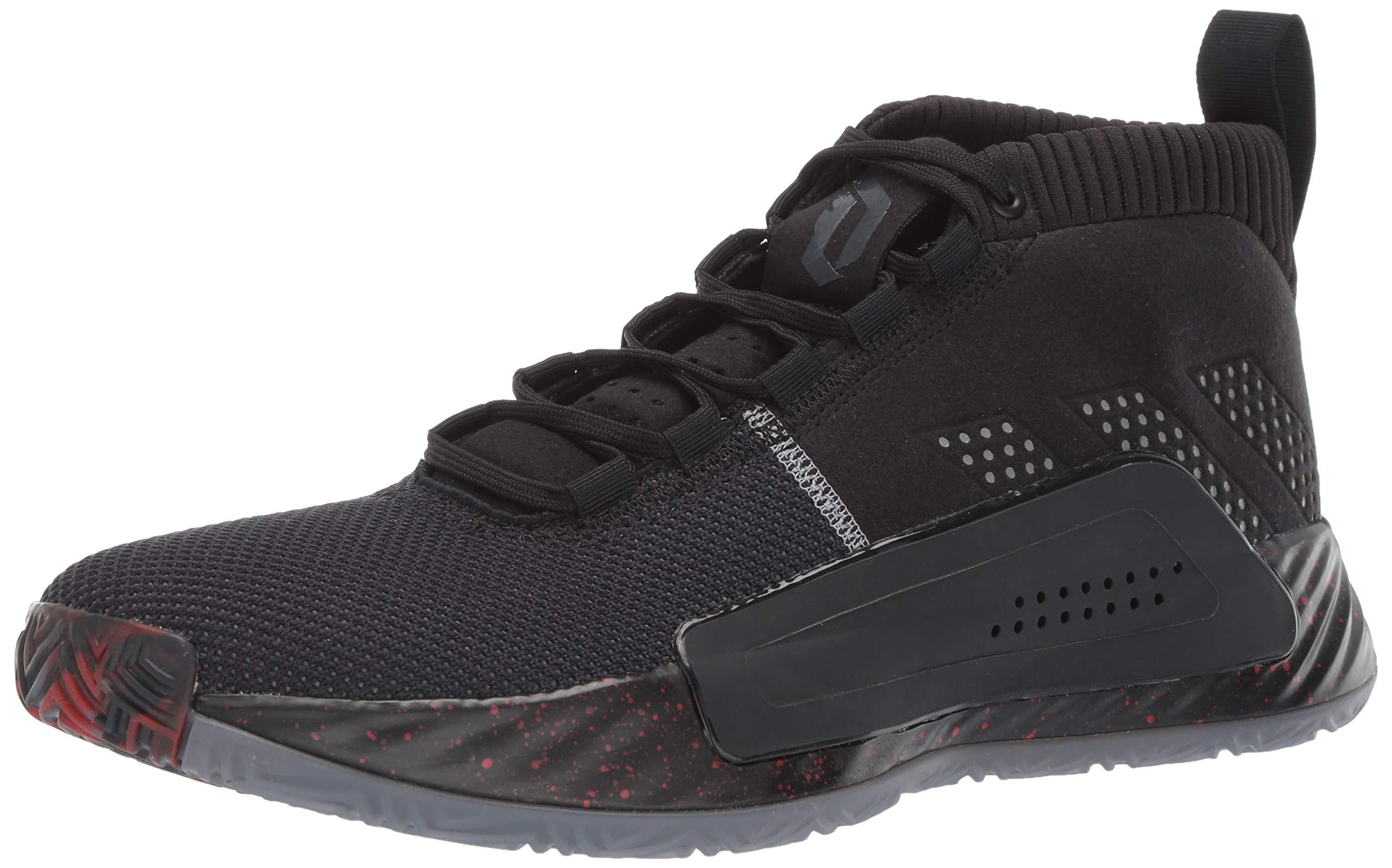 adidas Men's Dame 5, Black/Grey/Night Metallic, 6.5 M US