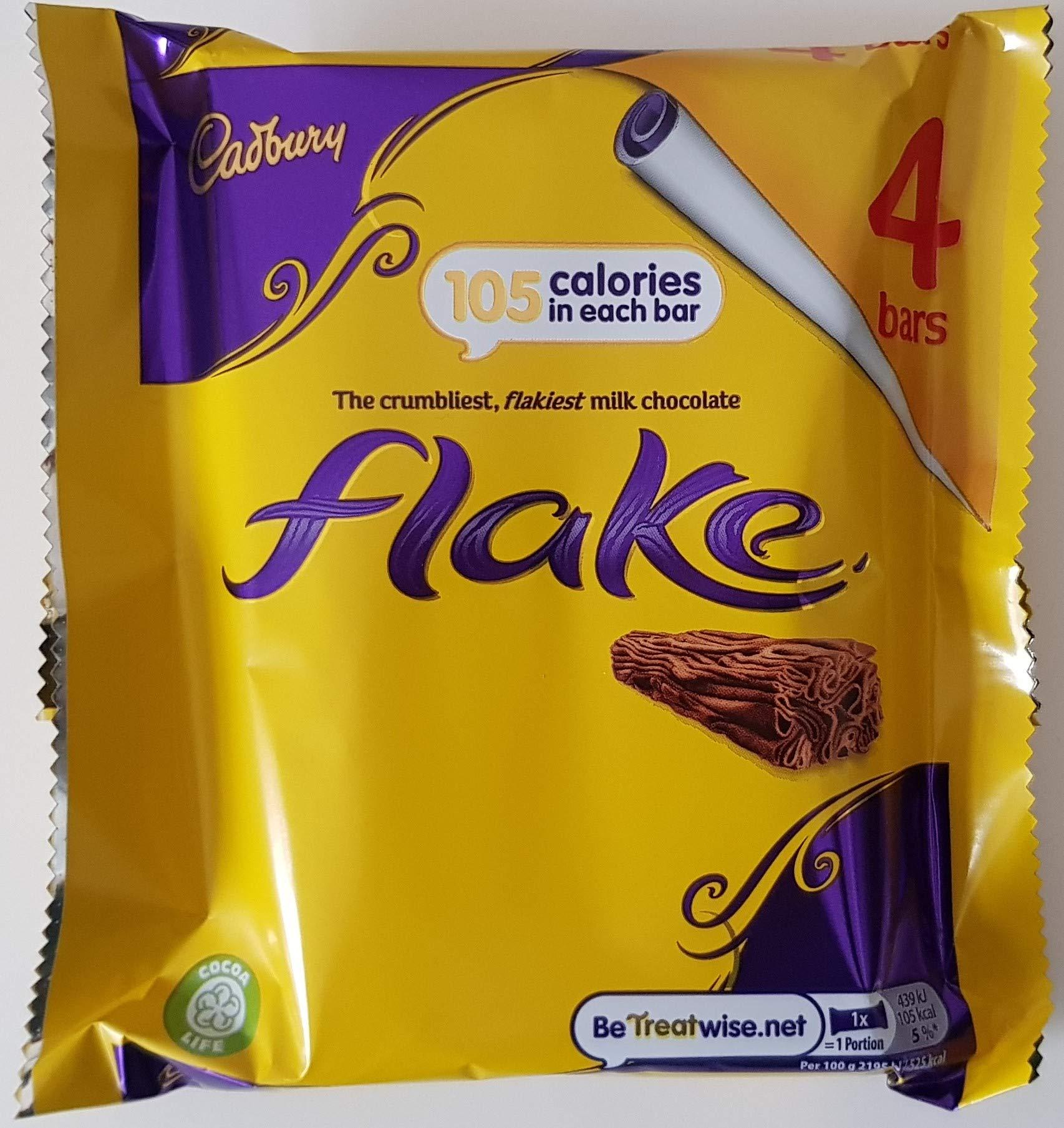 Original Cadbury Flake Chocolate Bar Imported from the UK England Original British Flake