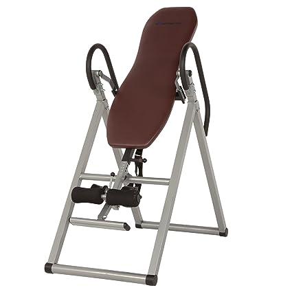 amazon com exerpeutic inversion table with comfort foam backrest rh amazon com