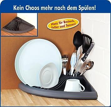 Ghz Matra Küchen Eckregal Für Besteck Und Geschirr Plastik