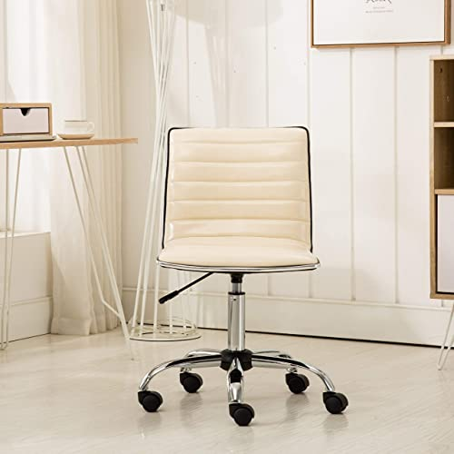Roundhill Furniture Fremo Chromel Adjustable Air Lift Office Chair