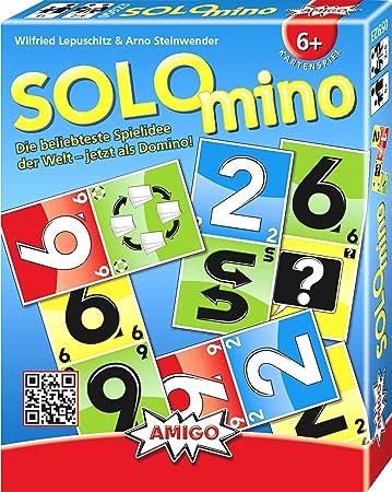 Solo mino Domino Kartenspiel Spiele ** Amigo **