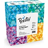 Amazon Brand - Presto! Ultra 3-Ply Facial Tissue 66CT 4 Pack
