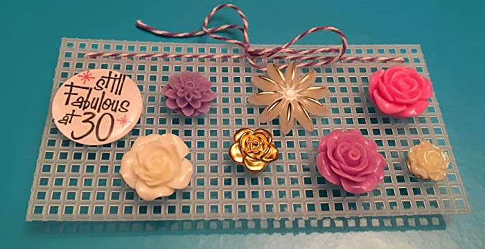 Amazon Resin Fabulous At 30 Birthday Flower Tacks