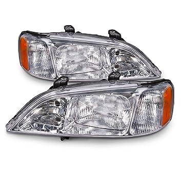 Amazon.com: Acura TL 3.2 HID Headlights Headlamps Pair New Set ...