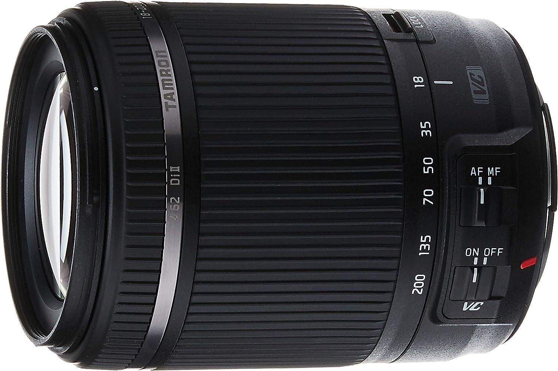 TAMRON 18-200mm f//3.5-6.3 Di II VC Lens Black for Canon EF DSLR Cameras New SALE