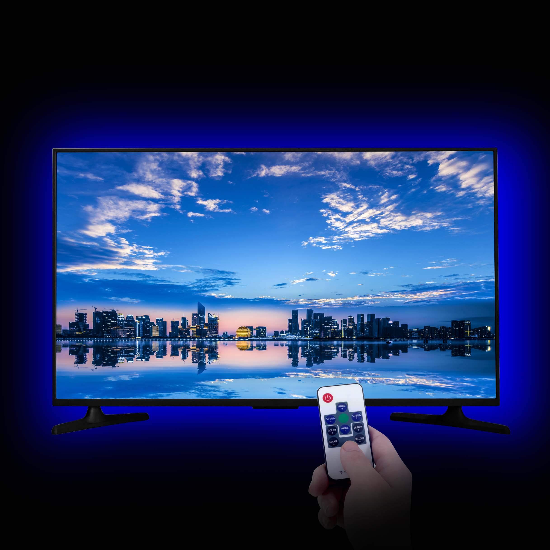 LED Strip Lights, LitSoul USB Bias Lighting LED TV Backlight for 60-75in Television