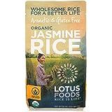 LOTUS FOODS Organic White Jasmine Rice, 30 OZ