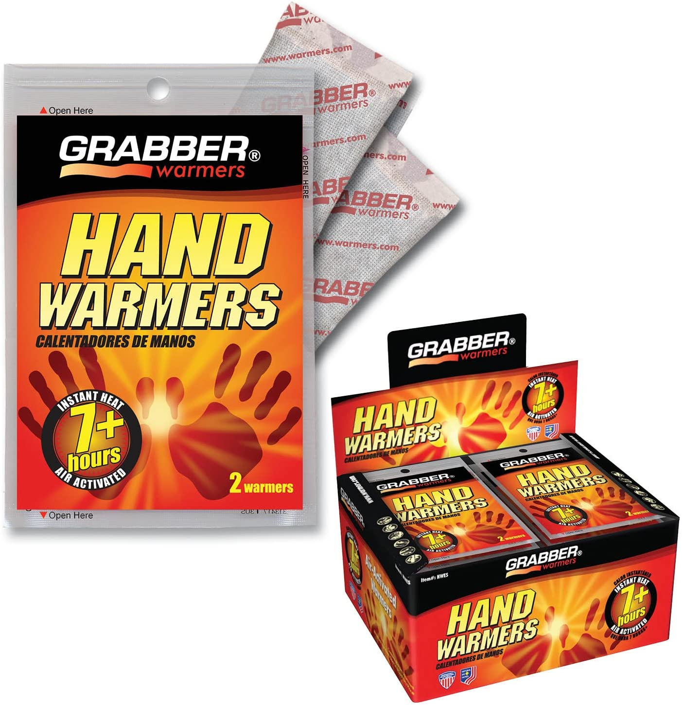 Box of 40 Pair Hour Grabber Hand Warmers 7