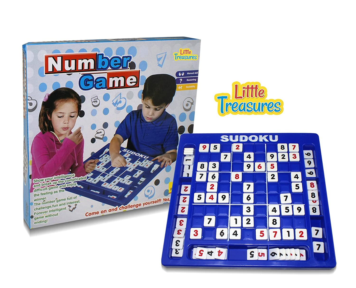 Sudoku Board Game, The Ultimate inelegant Number Game a Variety of 120 Game Modes, with a Variety of Difficulties