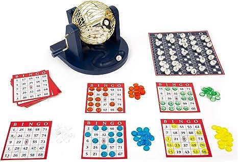 11406 Juego de Bingo, Small Foot, con Tambor de Bingo y Accesorios, familias y Juego de niños.: Amazon.es: Juguetes y juegos