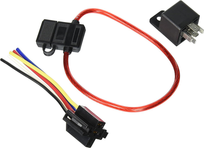 30/' 18GA Gauge AWG Car Alarm Primary Wire 12V Radio Relay Amp Remote Hook Up