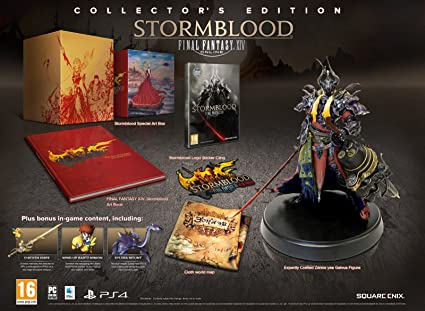 Final Fantasy XIV Stormblood Collector s Edition PC CD Amazon