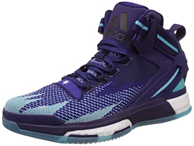 Adidas Men s D Rose 6 Boost Primeknit Purple and Bright Blue Basketball  Shoes - 6 UK  Buy Online at Low Prices in India - Amazon.in 8e34210ddd