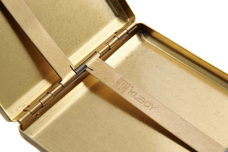 Mod Quantum Abacus Pitillera de Cobre para 18 Cigarrillos Elegancia opulenta KC9-01 DE