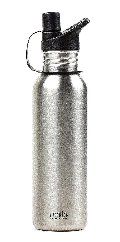 Amazon Molla 78320 Stainless Steel Reusable Water Bottle Home Improvement