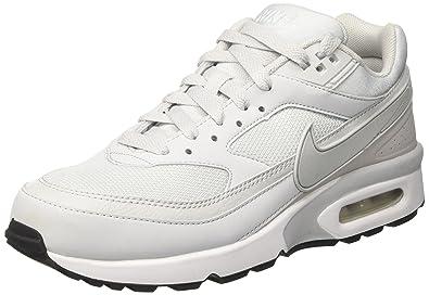 Nike Air Max BW, Chaussures de Gymnastique Homme, Blanc Cassé (Pure  Platinum/