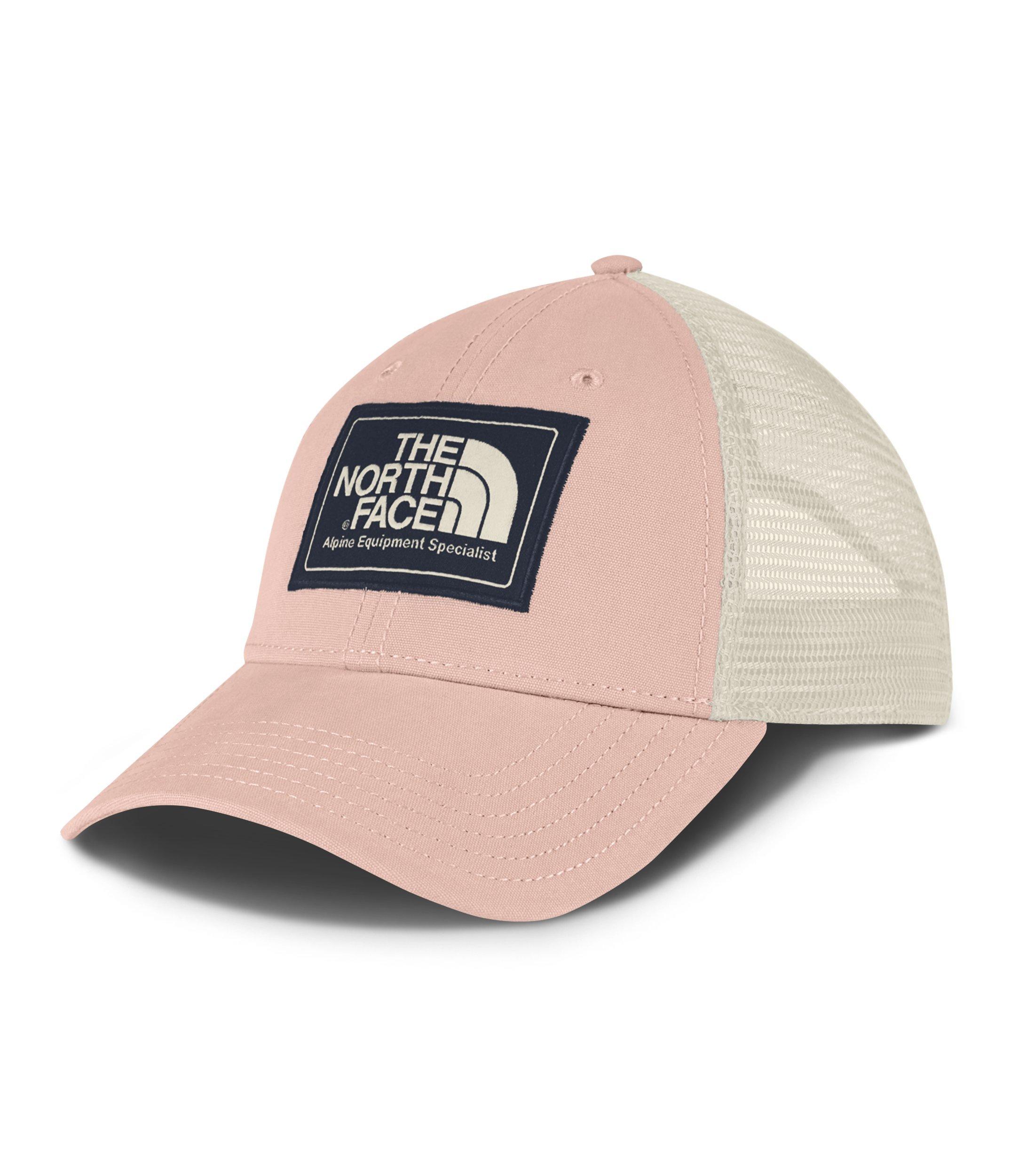 63f9437913f0b8 Galleon - The North Face Unisex Mudder Trucker Hat Evening Sand Pink/Urban  Navy/Vintage White One Size