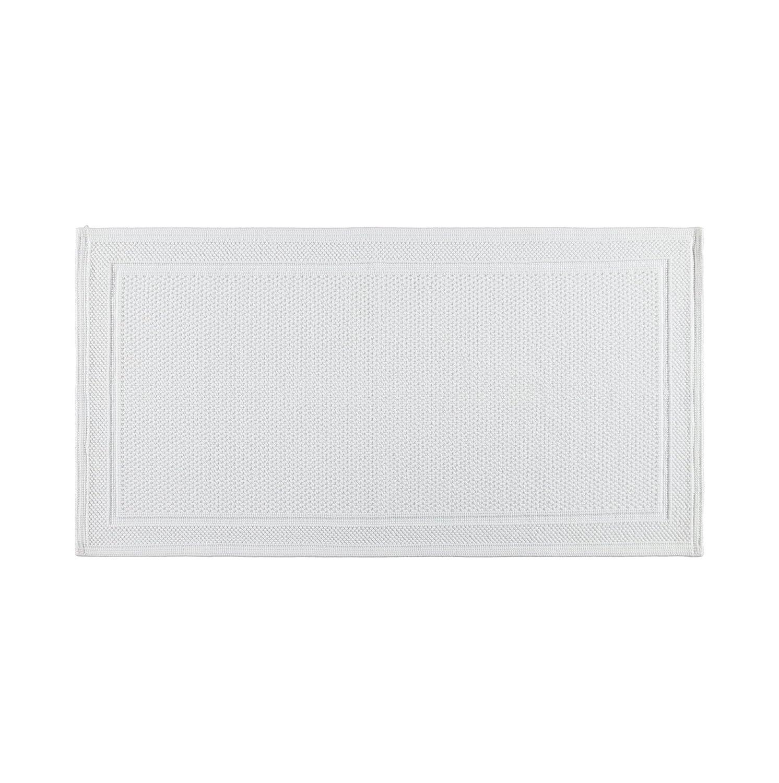 Bianco 100/% Cotone 50x110x0.5 cm Coincasa 6681902 Tappeto Bagno Lavorazione Waffle