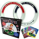 Activ Life Kid's Flying Rings [2 Pack] Fly Straight & Don't Hurt-80% Lighter Than Standard Flying Discs - Replace Screen Time