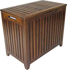 Redmon Teak Collection Vanity Hamper
