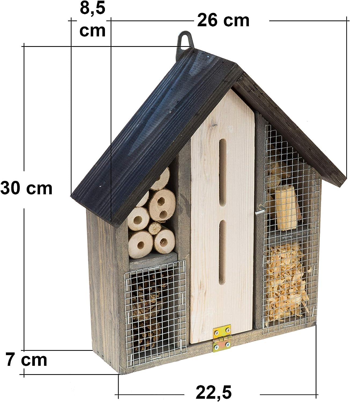 MAZUR International - Casa de insectos de madera para hotel y ...