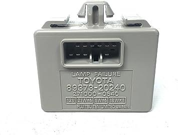 Amazon Com 99 00 01 02 03 Lexus Rx300 Lamp Failure Control Module 8937320240 Automotive