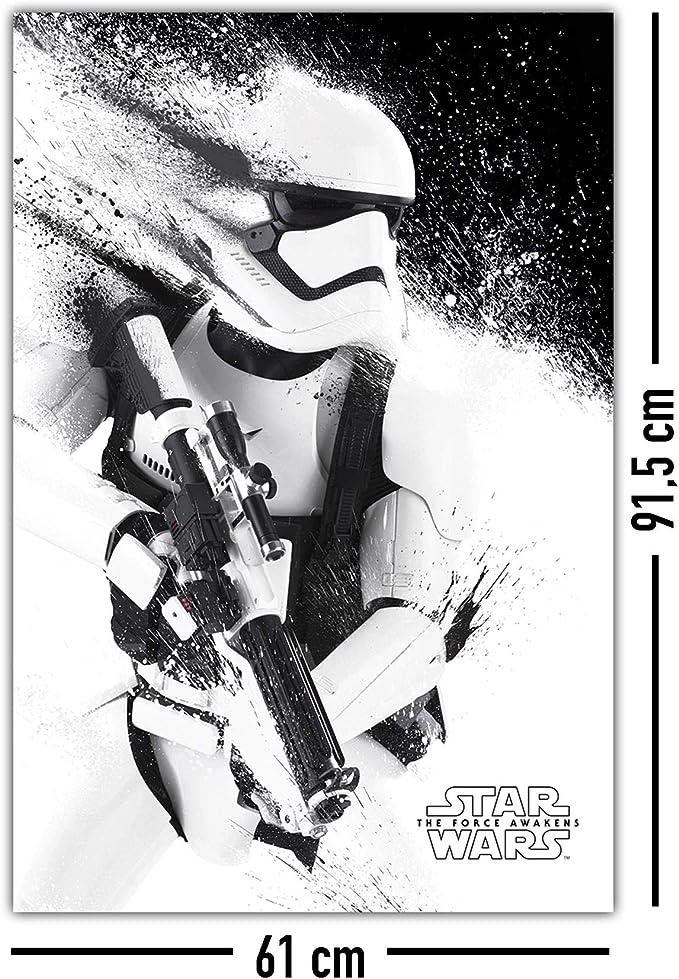 Star Wars Poster Darth Vader Comic Style Premium Plakat Hochformat 61x91,5 cm