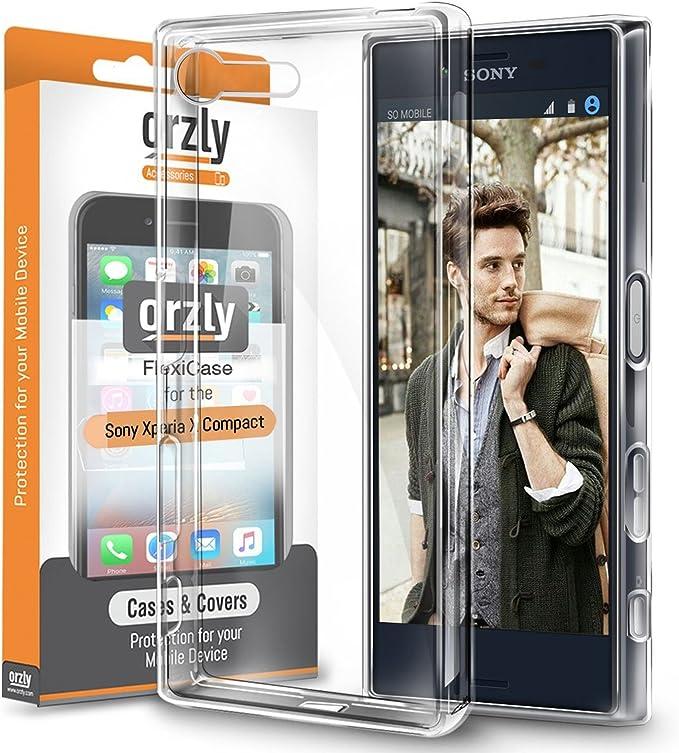 Orzly Funda Xperia X Compact, FlexiCase para Sony Xperia X Compact ...