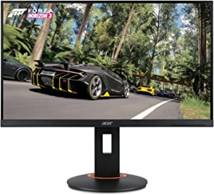 "Acer XF250Q Cbmiiprx 24.5"" Full HD (1920 x 1080) Zero Frame TN Gaming AMD FreeSync and NVIDIA G-SYNC Compatible Monitor - 1ms 