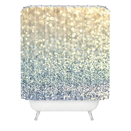 Deny Designs Lisa Argyropoulos Snowfall Shower Curtain, 69