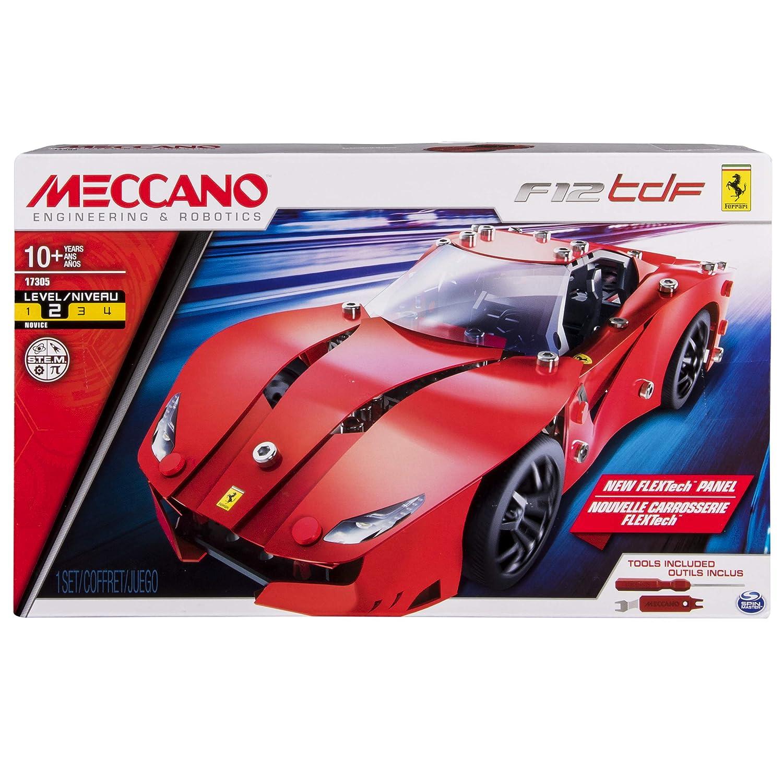 Ferrari F12tdF, 233 parts MECCANO  FERRARI F12TDF  MEC