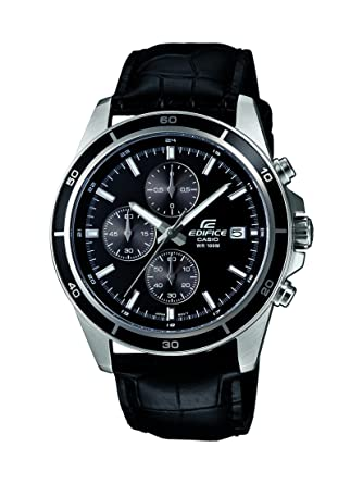 Buy Casio Edifice Chronograph Black Dial Men s Watch - EFR-526L-1AVUDF  (EX096) Online at Low Prices in India - Amazon.in dda8c713aa