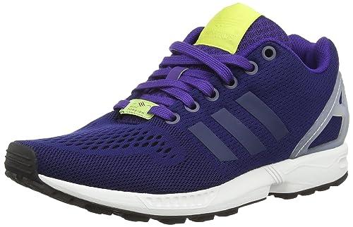 pretty nice 04818 66c24 adidas ZX Flux, Men's Running Shoes, Blue (Dark Blue/Dark Blue/Collegiate  Purple), 9.5 UK (44 EU)