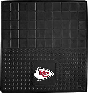 "product image for FANMATS - 10940 NFL Kansas City Chiefs Vinyl Cargo Mat Black 31""x31"""