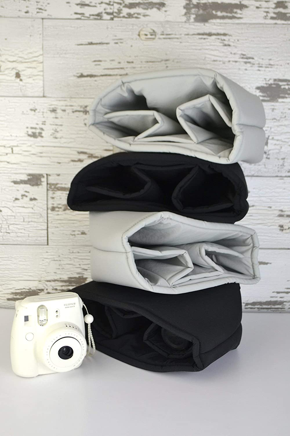 DSLR CAMERA BAG INSERT - Gray