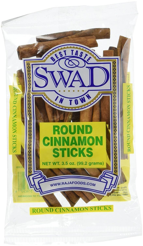 Great Bazaar Swad Round Cinnamon Stick, 3.5 Ounce