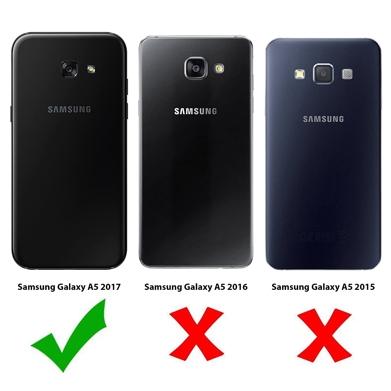Moo Samsung Galaxy A5 2017 Panzerglas Folie Premium Amazonde Elektronik