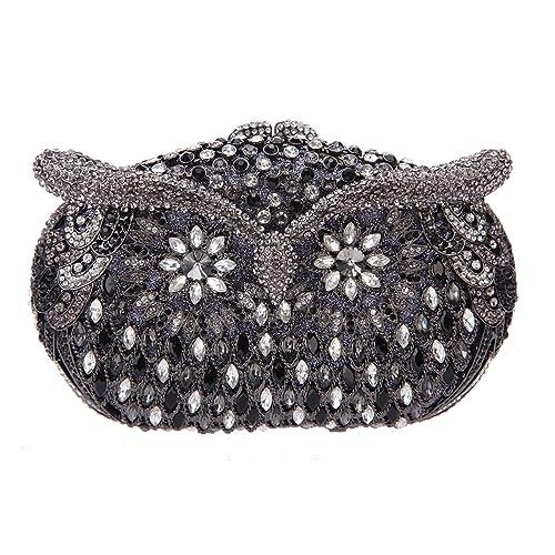 Fawziya Owl Evening Clutch Purses And Handbags For Women Wedding Bag