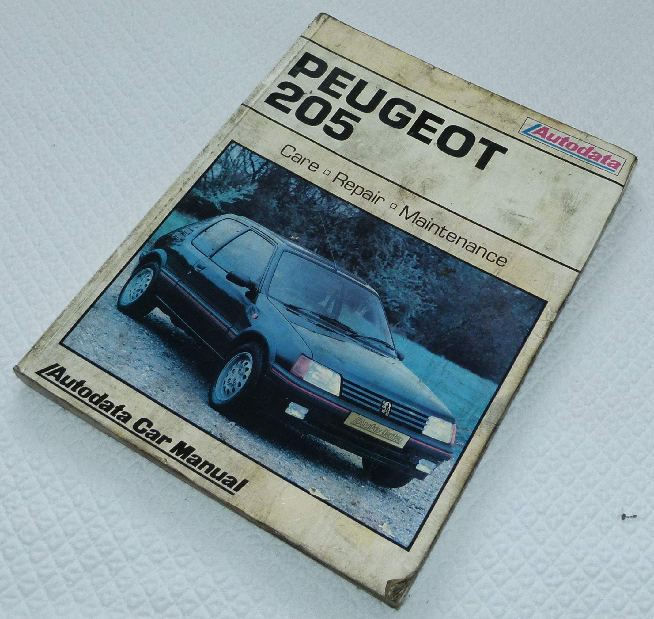 Peugeot 205 1983-90 (Autodata car manual): Amazon.es: Libros en idiomas extranjeros