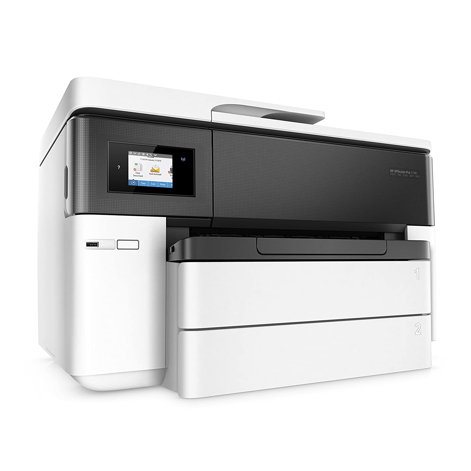 Hp hp color laser printers 11x17 - Amazon Com Hp Officejet Pro 7740 Wireless Color Wide Format All In One Printer With Mobile Printing Electronics