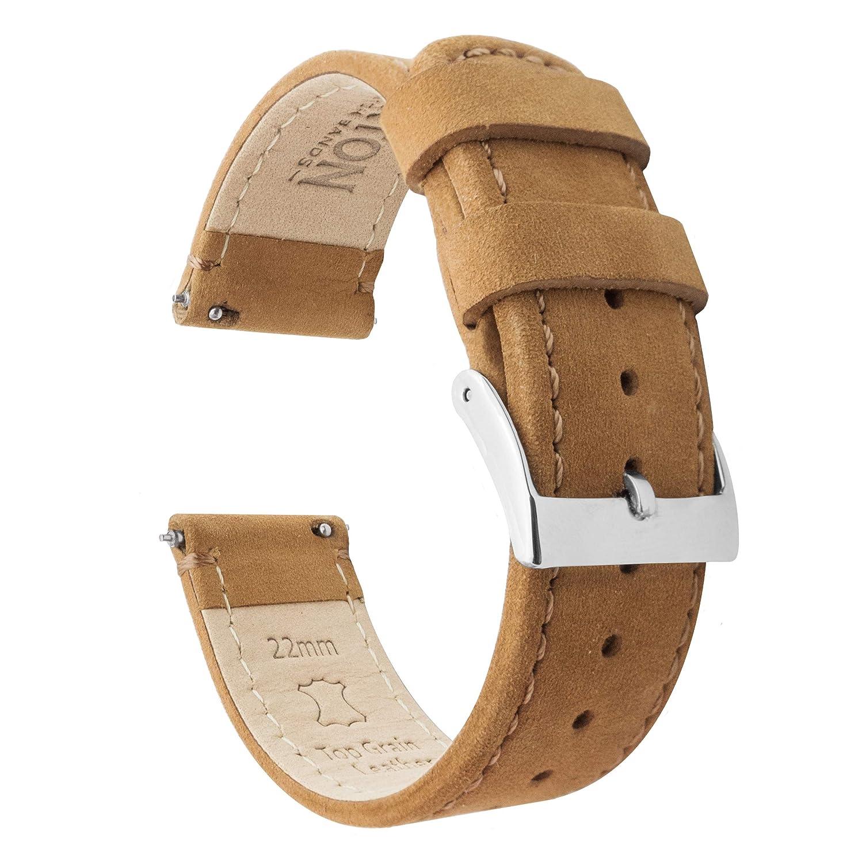 d7a50808773 BARTON Quick Release Top Grain Leather Watch Straps - Choose Colour   Width  (18mm