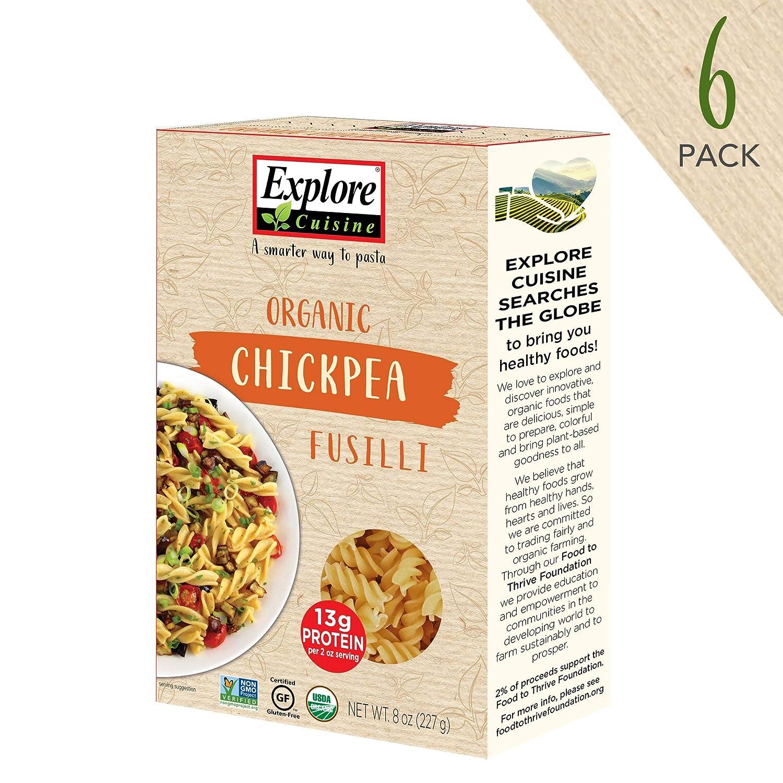 Explorar Cocina Pasta garbanzo fussilli: Amazon.com: Grocery ...