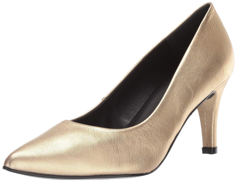 gold Metallic André Assous Women's Onassis Pump
