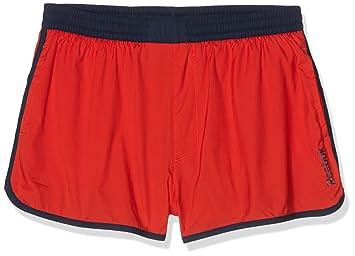 Reebok BW Retro Short - Bañador para hombre, color Rojo (Motred), talla