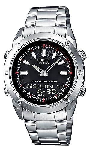 CASIO EFA-118D-1AVEF Edifice - Reloj de caballero de cuarzo, correa de