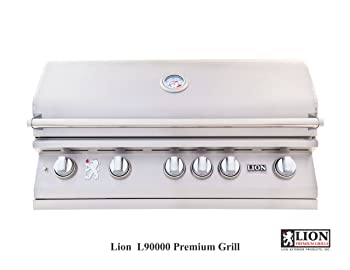 Lion Premium Natural 6 Burner Gas Grill