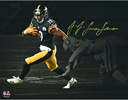 new concept 5cdbb 6ff5f JuJu Smith-Schuster Pittsburgh Steelers Autographed 11